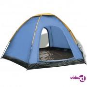 vidaXL Šator za 6 osoba plavo-žuti