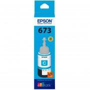 Botella Tinta EPSON T673 L800 L805 L810 L850 L1800 Cyan