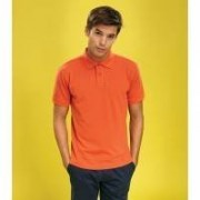 AQ010 Mens Classic Fit Polo Orange