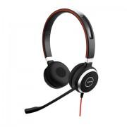 Jabra Evolve 40 MS Stereo USB-C Stereofonico Padiglione auricolare Nero