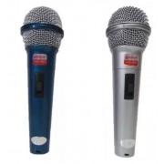 Mikrofon 2db-os disco, Dj, karaoke mikrofon zsinóros - WG-119
