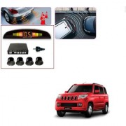Auto Addict Car Black Reverse Parking Sensor With LED Display For Mahindra TUV-300