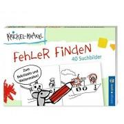 Die Krickelkrakels - Krickel-Krakel Blockspiel Fehler finden - Preis vom 18.10.2020 04:52:00 h