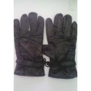 Leather Gloves For Bike Riding And Winter Protection