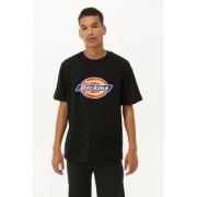 Dickies - T-shirt noir avec logo fer à cheval- taille: L