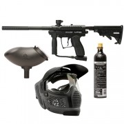 Spyder MR100 PRO Pack Paintball Gun - Black