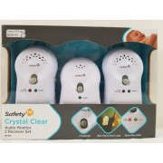 Monitor de Audio Crystal Clear 2X Safety 1st MO066 - Blanco