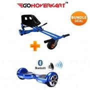 "Monster Hoverkart and 6.5"" Bluetooth Hoverboard Midnight Blue Go Monster Bundle"