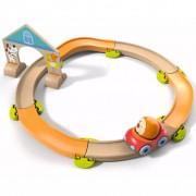 HABA Kullerbü Ball Track Set Roundabout 302057