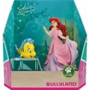 Figurina Bullyland Little Mermaid - Ariel and Flounder