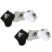 Adidas Men's Ankle Length Socks - 6 Pairs