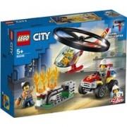 LEGO 60248 LEGO City Fire Räddning Brandhelikopter