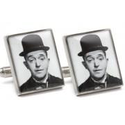 Mousie Bean Photo Cufflinks Laurel & Hardy 1033-2