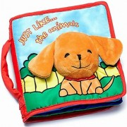 Premium Soft Cover Cloth Book for Babies & Toddlers | Fabric Activity Crinkly Books | Educational Toy | Baby Shower Gift for Boy & Girl | Bonus Gift Box & Amazing eBook | 100% Satisfaction Guarantee