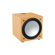 Monitor Audio: Silver W-12 Subwoofer - Natural Oak