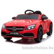 Mercedes C63 elektromos kisautó Piros RENDELHETÕ