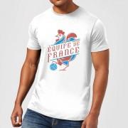 Football Camiseta Fútbol Francia Équipe de France - Hombre - Blanco - L - Blanco