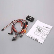 KMtar5MX 6.0V 100mA Controlled/Simulated and Flashing Head Lamp Light System For 1/10 RC Scale Drift Vehicle Accessory