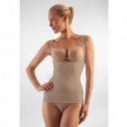 Alakformáló női trikó mellrész kihagyással, FarmaCell Shape 606, bézs, M