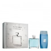 Azzaro Chrome SET 100 ML Eau de toilette Cofanetti