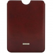 The Bridge Slg Story Line Mini iPad Case Leder 15,7 cm vinaccia nickel