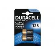Standaard Duracell Ultra Photo 123 batterijen (2 stuks)