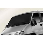 Parasolar auto anti-inghet dublu strat de protectie 110-160x75cm negru