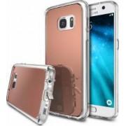 Husa Ringke Samsung Galaxy S7 Rose Gold + Folie Ringke Cadou