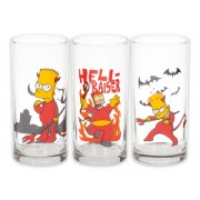 Set 3 pahare The Simpsons