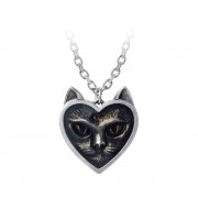 Ogrlica s privjeskom ALCHEMY GOTHIC - Love Cat - P884