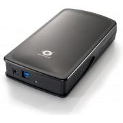 Conceptronic Hard Disk Box USB 3.0 - Harde schijf behuizing - 3.5 inch - Zwart