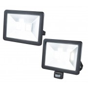 Wetelux LED Fluter mit Bewegungsmelder, 10 Watt, 800 Lumen, IP44