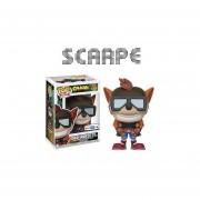 Funko Pop Crash Bandicoot With Jet Pack Exclusivo Sticker Nuevo
