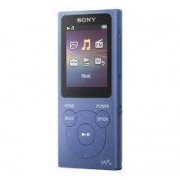 "Sony Lettore Mp4 Sony Nw-E394 Radio /Mp4 8Gb Display 1.77"" Touch Screen Bl"