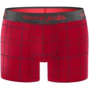 Comfyballs Red Checkered Cotton