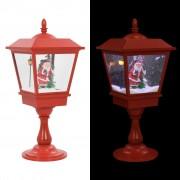vidaXL Коледна пиедестална лампа с Дядо Коледа, 64 см, LED