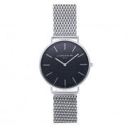 Liebeskind Reloj de cuarzo de acero inoxidable edelstahl schwarz