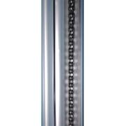 BelFox Aluminiumschiene mit Kette