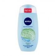 Nivea Clay Fresh sprchový gel s jílem 250 ml odstín Ginger & Basil pro ženy