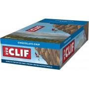CLIF Bar Energybar Sportvoeding met basisprijs Chocolate Chip 12x68g bruin/blauw 2018 Sportvoeding