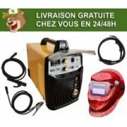 Silex France ® Pack poste à souder combiné 160A Silex ® + masque de soudure WH522
