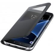 Galaxy S7 EDGE S-View flip cover - zwart