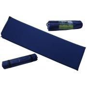 Modrá samonafukovací karimatka - délka 186 cm, šířka 53 cm a výška 3 cm