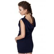 Madnezz MAD134 Dwufunkcyjna sukienka z Wodą - Granat