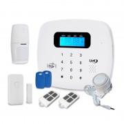 Antifurto casa Wireless IRIS LKM Security Allarme GSM con tastiera touch screen e sensori Wireless