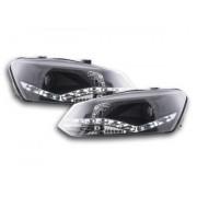 FK-Automotive faro luci di marcia diurna Daylight VW Polo 6R anno di costr. 09'-
