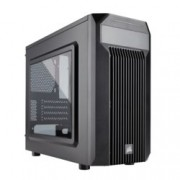Кутия Corsair Carbide Series SPEC-M2, Mini-ITX/mATX, 1x USB 3.0, прозрачен капак, гейминг, черен, по поръчка