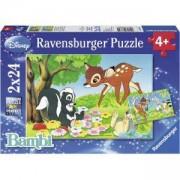 Детски пъзел 2 в 1 - Бамби - Ravensburger, 707721
