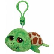 Jucarie Plus cu Breloc 8.5 cm Beanie Boos Zippy green turtle TY