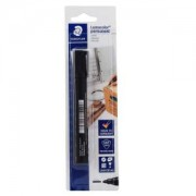 Staedtler Lumocolor® 352 permanent marker, Filzstift wisch- und wasserfest auf fast allen Flächen, 1 Stück, schwarz
